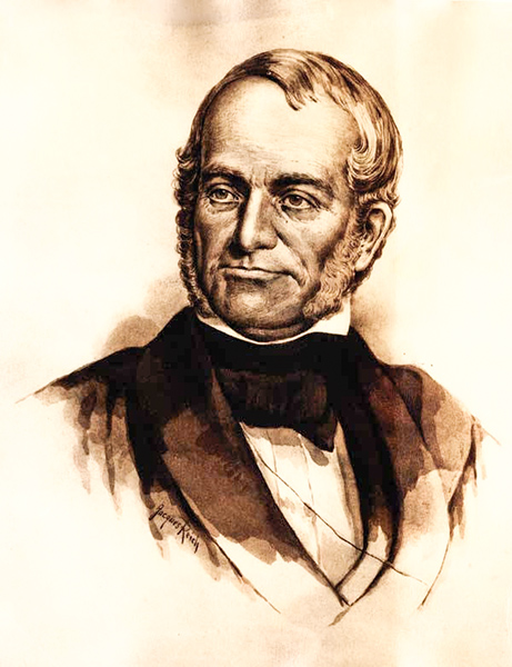 1844 : James Birney, Bay City Pioneer, Father of Abolition, 1st Michigan Presidential Candidate?